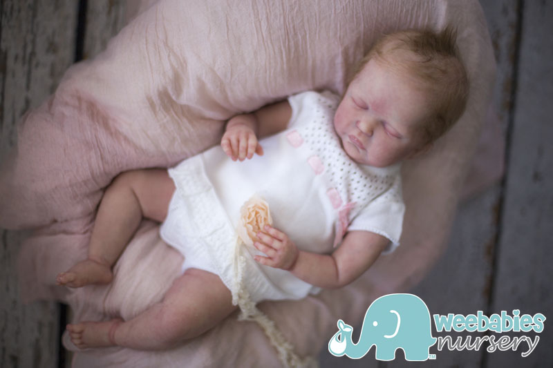 Shannon Prototype Cloth Body Silicone Baby Girl